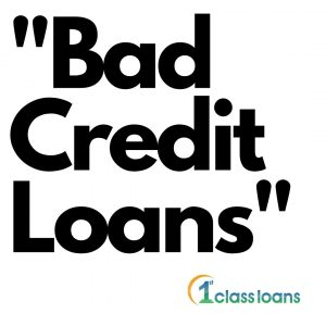 Payday Loans bad credit art work by 1st Class Loans