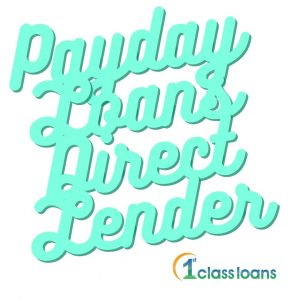"1st class loans image of ""payday loans bad direct lender"" quote"