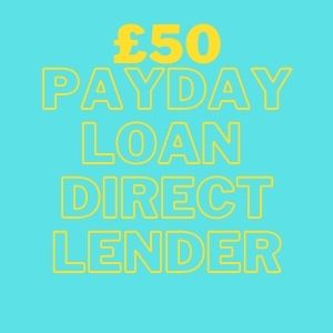 £50 payday loan direct lender